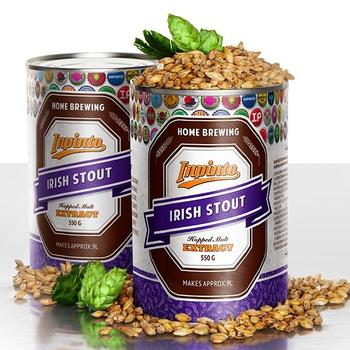 Пивная смесь Inpinto Standart Irish Stout, 2 x 0.55кг