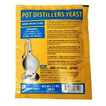 Турбо дрожжи Pot Distillers yeast 18% Prestige 22615 PR