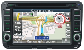 Автомагнитола Velas V-SKO с картой Navitel (for Skoda Octavia)