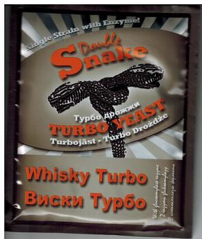Турбо дрожжи DoubleSnake Turbo Whisky, 70гр